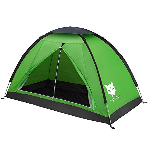 Night Cat Backpacking Tent Étanche Léger 1 Personne Personne Installation...