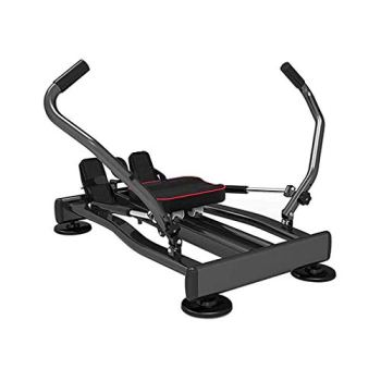 JF Rameur De Fitness Réglable, Rameur Multifonctionnel Hydraulique Domestique, Équipement d'exercice De Fitness À Rotation À 360 Degrés (Taille: 110 * 57,2 Cm)