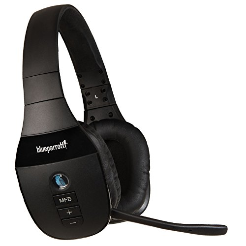 BlueParrott S450-XT Voice-Controlled Bluetooth Headset  Industry Leading Sound with Long Wireless Range, Extreme Comfort and Up to 24 Hours of Talk Time