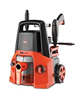 SPECIFICATIONS PRESSURE WASHER : Universal Motor. Power: 1550W. Rated Pressure: 130Bar. Max Flow rate: 5.5L/Min. Pressure Hose: 5M. Cable Length: 5M. Voltage: 220V-60Hz. Standard Accessories: Spray Handle , High low setting nozzle, male connector, Cl...