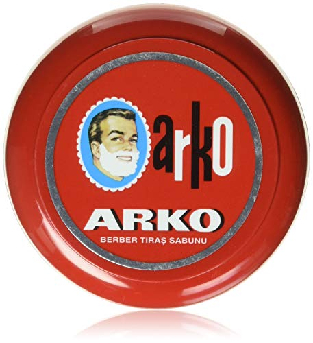Arko Shaving Soap In Bowl, 90 Gram