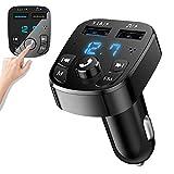 Transmetteur FM Bluetooth,Kit Main Libre Voiture Bluetooth Chargeur Rapide...