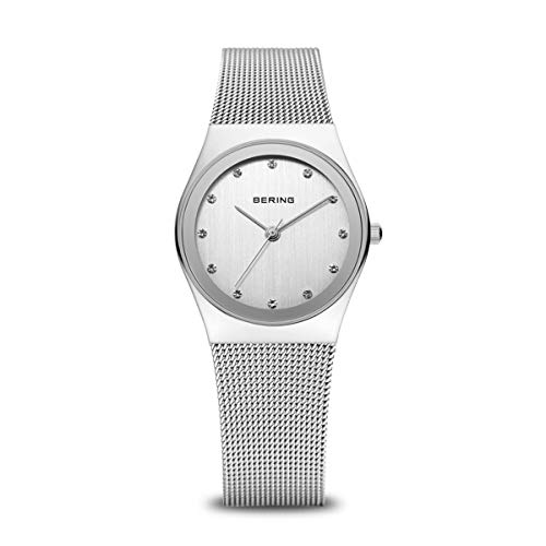 Bering Damen Analog Quarz Uhr mit Edelstahl Armband 12927-000