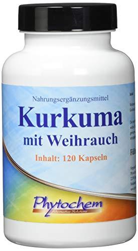 KURKUMA und WEIHRAUCH | hochkonzentriere Extrakt | 120 Kapseln | Premium Qualität aus Deutschland