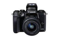 Canon EOS M5 - Kit de Cámara Evil DE 24.2 MP con Objetivo EF-M 15-45 S (Pantalla Táctil DE 3.2'', DIGIC, NFC, CMOS, Bluetooth, ISO, EF Lenses, Remote Shooting, Full HD, WiFi) Negro