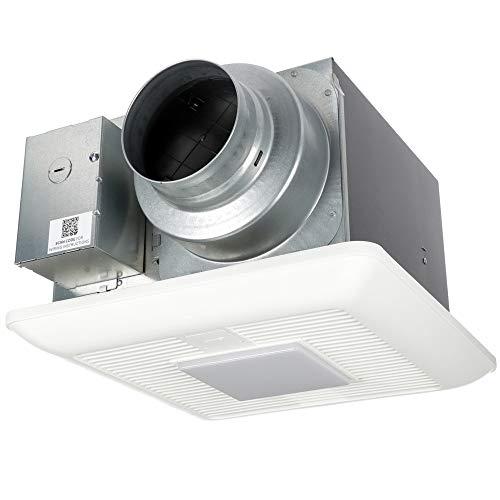 Panasonic FV-05-11VKL2 WhisperGreen Select Ventilation Fan/Light Combination, Customizable Bathroom Fan, Pick-A-Flow Speed Selector, Long Lasting, Easy to Install, White