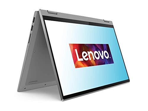 Lenovo IdeaPad Flex 5i Laptop 35,6 cm (14 Zoll, 1920x1080, Full HD, WideView, Touch) Convertible Notebook (Intel Pentium Gold 7505, 8GB RAM, 256GB SSD, Intel UHD-Grafik, Windows 10 Home S) silber