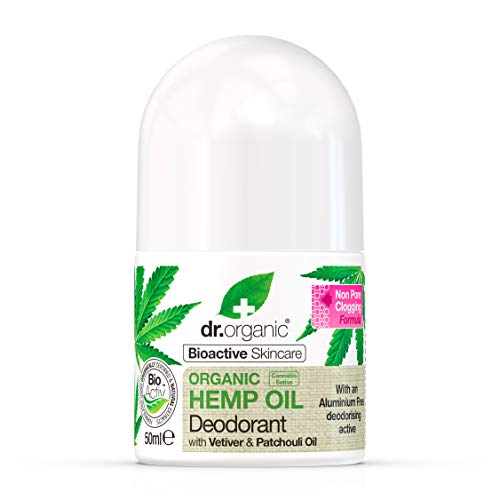 Dr. Organic Desodorante Aceite de Cañamo Organico 50 ml 50 ml