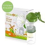 Tire-lait en silicone par Littlebloom – Tire-lait manuel mains libres sans BPA...