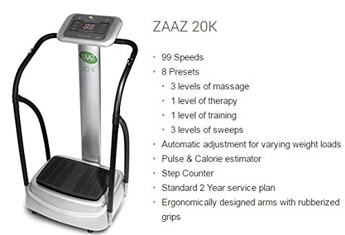 ZAAZ 20k The #1 Whole Body Vibration machine in the world The Machine That Changes Everything. 6