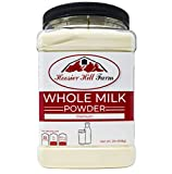 Hoosier Hill All American Whole Milk Powder 2 LBS, Hormone Free, Made in USA