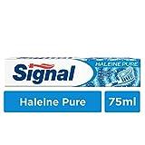 Signal Dentifrice Haleine Pure, Contre la Mauvaise Haleine, Fraîcheur, 75 ml