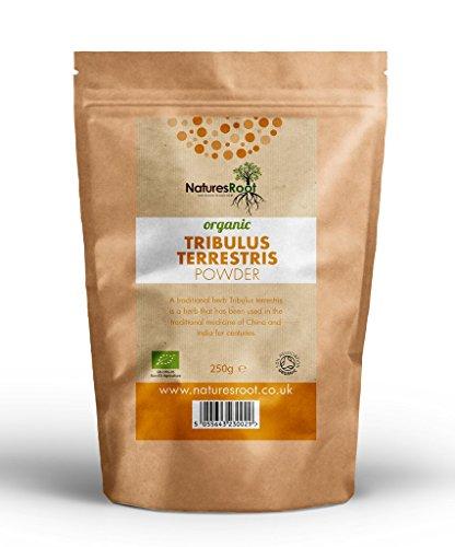 Natures Root BIO Tribulus Terrestris Pulver - Aus biologischem Anbau 500 g