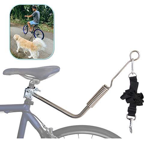 Lumintrail Dog Bike Leash Attachment for Hands...