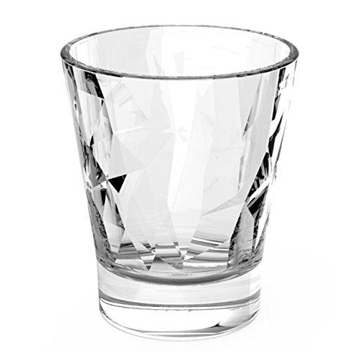 Bormioli Set 6 Bicchierini Trasparenti 8 cl Diamond Bar liquore caffè