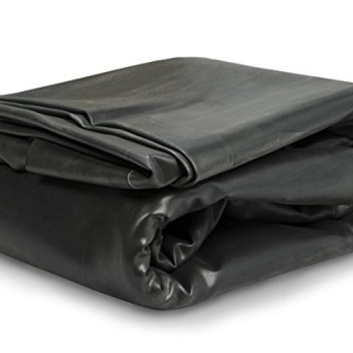 Aquascape EPDM 45 Mil Rubber Liner for Pond, Waterfall and Water Features, PRO Grade, Black