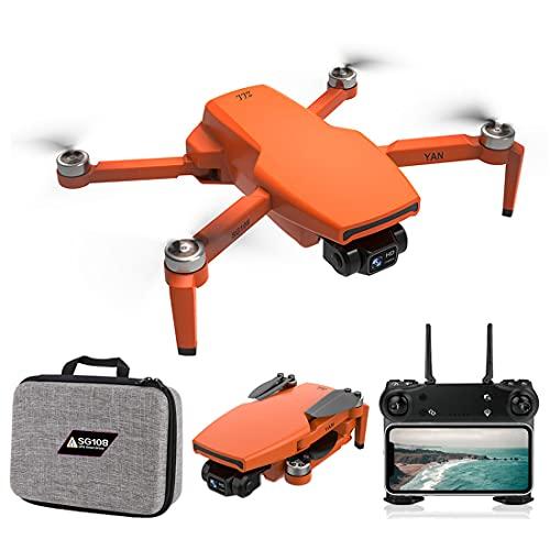 ZLL SG108 PRO RC Drone 4K fotocamera con custodia portatile e Akuus, 5G WiFi GPS FPV senza spazzole Quadcopter per principianti, 25 minuti di volo