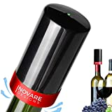Electric Wine Preserver, Automatic Intelligent Wine Saver with Built-in Food Grade Silicone Stopper, Reusable Bottle Sealer to Keep Opened Wine Fresh
