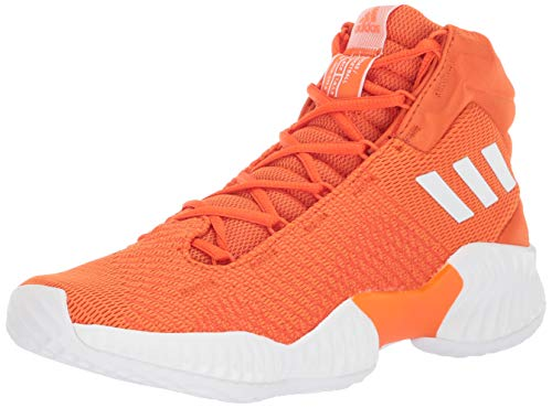 adidas Men's Pro Bounce 2018 Basketball Shoe, Black/White/Grey, 9 M US