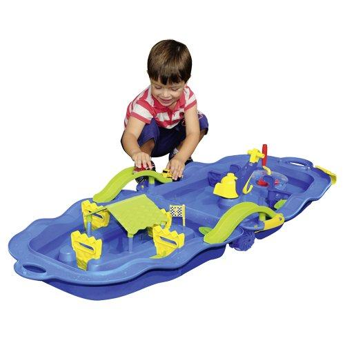 Speelgoed, Giocattolo da scopritore, Carrello con Pista sull'acqua, 60-509