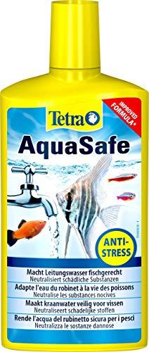Tetra AquaSafe (Qualitäts-Wasseraufbereiter für fischgerechtes und naturnahes Aquariumwasser, neutralisiert fischschädliche Stoffe im Leitungswasser), 500 ml Flasche