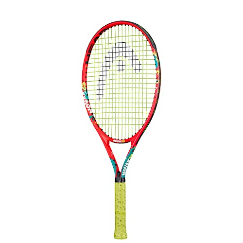 Head Novak 25 Raqueta de Tenis, Juventud Unisex, Multicolor, 8-10 años