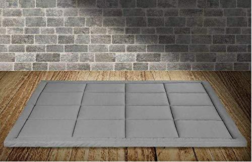 Evergreenweb - Matelas de futon simple pliant et enroulable. Matelas de sol 90X190 5cm de épaisseur Futon matelassé Tatamipeu encombrant - Single Tapis de Sol | Bed Ground 90 x 190