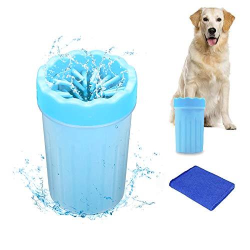 WELLXUNK Limpiador Portátil para Patas de Perro,Limpiador P