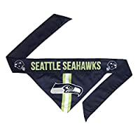Reversible design with different team graphics on each side Officially licensed NFL, MLS, NHL, NCAA pet product (depending on team) Soft, washable cotton/poly blend 13 sizes available: Please see size chart to measure and select the right fit for you...