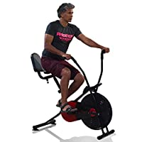 Lifelong air Bike has the back support, adjustable seat height and foot lock pedal which makes your exercise stress-free It has digital display meter which displays your exercise time, revolutions per minute (rpm), calories burnt; it tells you an acc...