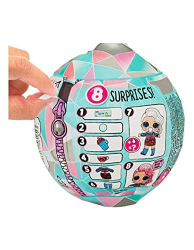 Image 1 - MGA- Poupée L.O.L. Surprise Glitter Globe de la série Winter Disco avec Cheveux Scintillants Toy, 561613, Multicolore