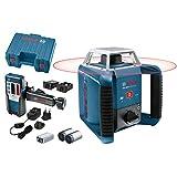 Bosch Professional Laser rotatif GRL 400 H (Commande par bouton unique,...