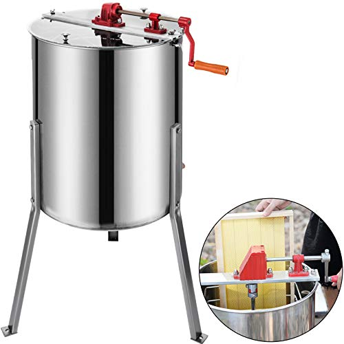 Happybuy Electric Honey Extractor with 4 frames