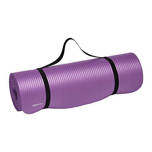 Amazon Basics Extra Thick Exercise Yoga Gym Floor Mat with...