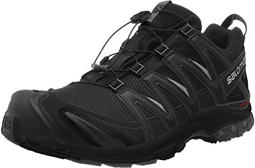 Salomon Men's Trail Running Shoes, XA PRO 3D GTX, Colour: Black (Black/Black/Black), Size: UK - Size 11.5