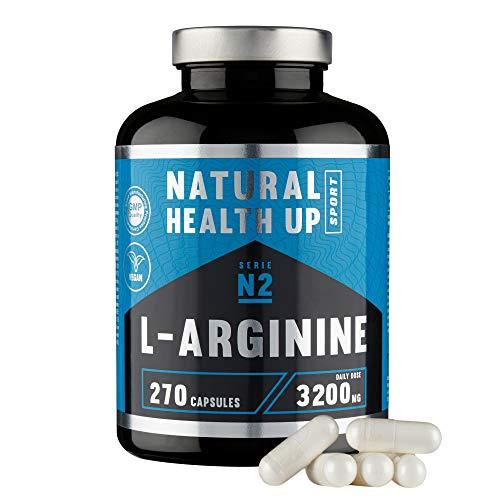 L-arginina 3,2 gramos dosis pura diaria – Suplemento deportivo para...
