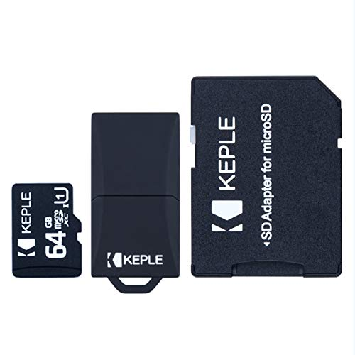 64GB microSD Memory Card | Micro SD Compatible with Lenovo Tab 4, 10 Plus, 2 A10-70L, Acer Iconia One 10 B3-A20, Yoga 3, 7 Essential | Huawei MediaPad T3 Tablet (7, 8, 10.1 inches) Tablet | 64 GB