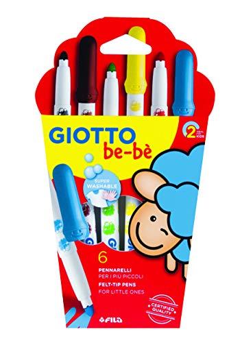Giotto Beb 466600 - Superpennarelli Astuccio 6 Colori