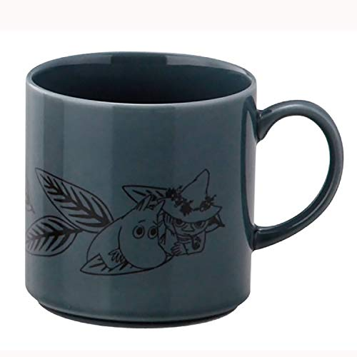 MOOMIN (ムーミン) 「 レヘティア 」 マグカップ ダークグリーン MM2403-11