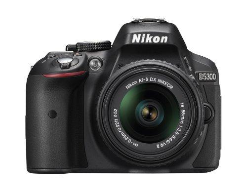 Nikon D5300 24.2 MP CMOS Digital SLR Camera with...