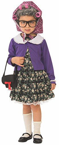 Rubie's girls Little Old Lady Child s Costume, As Shown, X-Small US