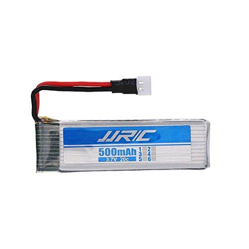 JJRC YUNIQUE Italia 1 Pezzo Batteria Li-Po Adatte per Droni H37 da 3.7 v 500mAh 20C