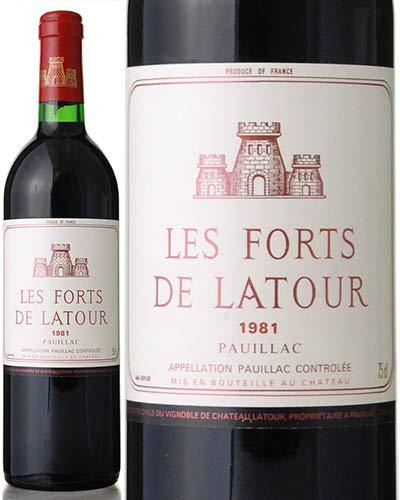 レ フォール ド ラトゥール [ 1981 ] (赤ワイン) [S]
