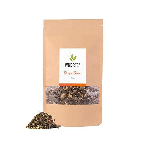 DETOX Tee Classic | 100g | 1 Monat Kur | Premium Bio Qualität | Entgiftung & Entschlackung | Loser Kräutertee | Handmade in Deutschland | WNDRTEA