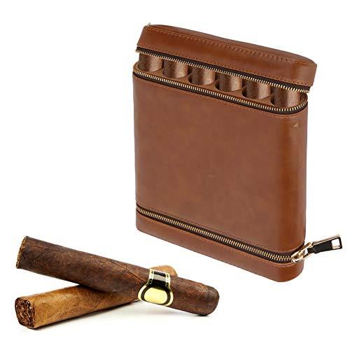 Garosa Cigar Humidor Etui à Cigares Voyage en Plein Air Humidor Cas en...