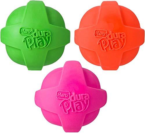 Hartz Dura Play Ball Size:Medium Pack of 3