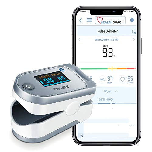 Beurer PO60 Bluetooth Fingertip Pulse Oximeter