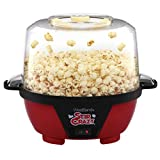 West Bend 82505 Stir Crazy Electric Hot Oil Popcorn Popper, Standard,...