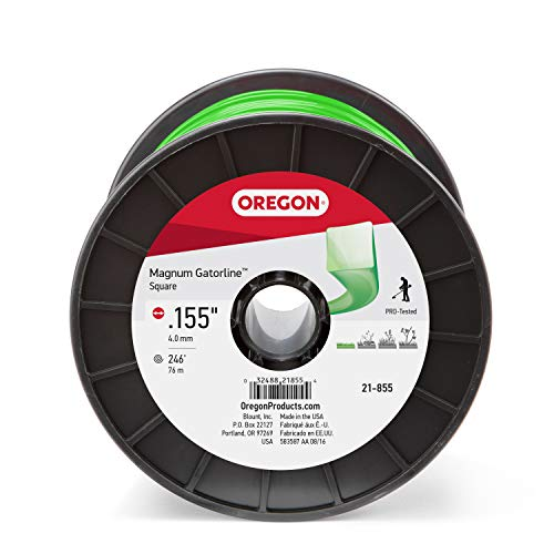 Oregon 21-855 Gatorline Square String Trimmer Line .155-Inch Diameter 3-Pound Spool