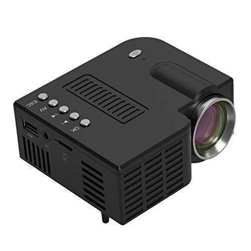 Lzpzz Proiettore, Video proiettore Portatile con 20000 Ore di Vita di Luce, Mini proiettore...